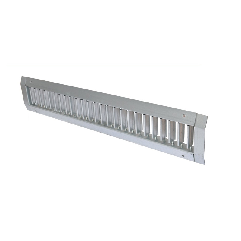 Grilles for spiral duct